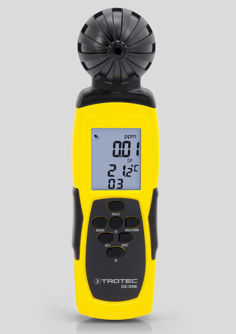 detector de calidad del aire Medidor de ozono port/átil O3 0-5 ppm de rango de detecci/ón r/ápida utilidad de uso