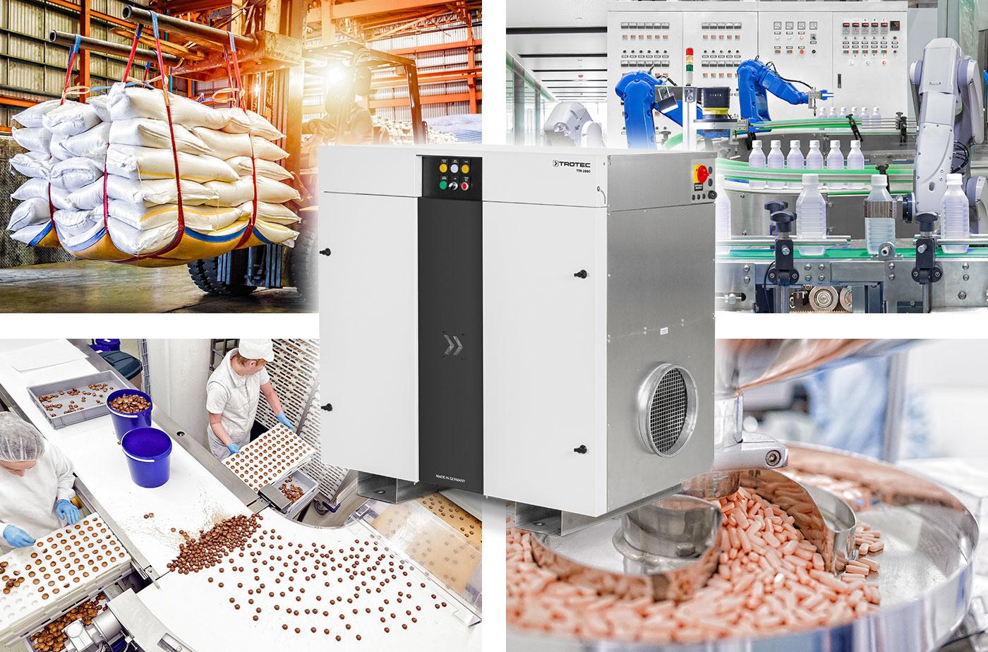 Un secador por adsorción ideal para múltiples aplicaciones: el TTR 2800 de Trotec