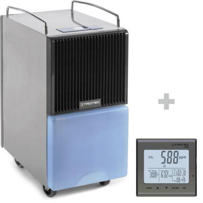 Deshumidificador  TTK 120 E + Detector de calidad del aire (CO2) BZ25