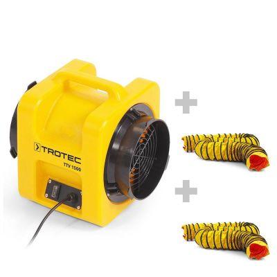 Ventilador TTV 1500 + 2x Manguera SP-T 203 mm