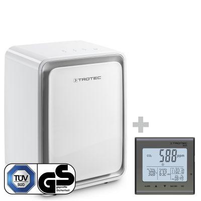 Deshumidificador TTK 24 E + Detector de calidad del aire (CO2) BZ25