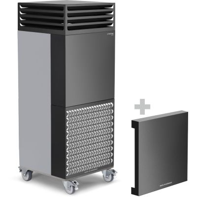 Purificador de aire para habitaciones TAC BASIC + Campana de aislamiento acústico