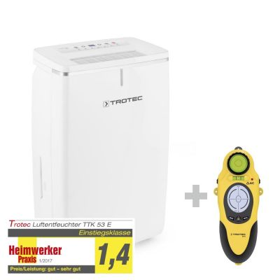 Deshumidificador TTK 53 E + Escáner de pared Multifuncional BI15