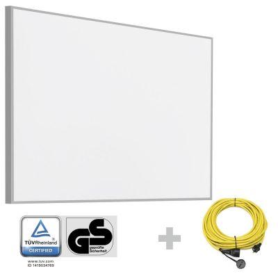 Panel calefactor infrarrojo TIH 900 S + Cable alargador profesional de 20 m / 230 V / 2,5 mm²