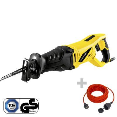 Sierra de sable PRCS 10-850 + Cable alargador de calidad 15 m / 230 V / 1,5 mm²