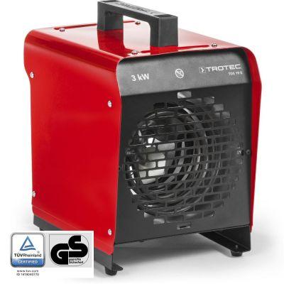 Soplador calefactor eléctrico TDS 19 E de segunda mano (clase 1)