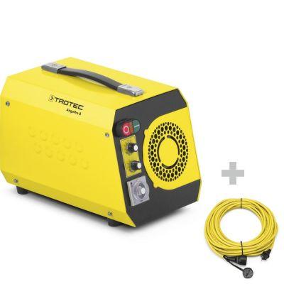 Neutralizador de olores AirgoPro 8 + cable de extensión profesional 20 m / 230 V / 2,5 mm²