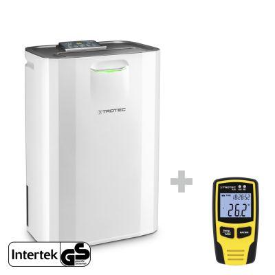 Deshumidificador por adsorción TTR 57 E + Datalogger BL30 para el control climático