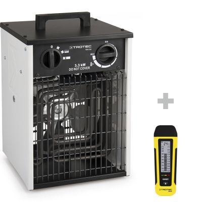 Calefactor eléctrico TDS 20 + Medidor de humedad BM22