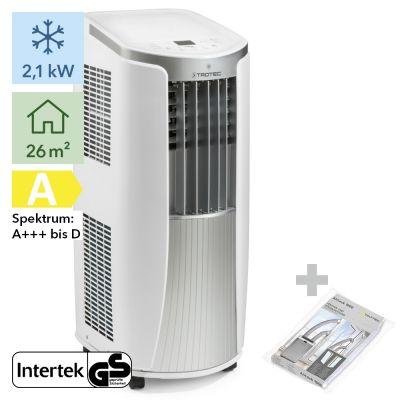 Aire acondicionado portátil PAC 2010 E + AirLock 1000