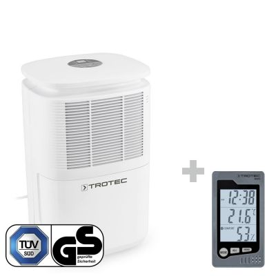 Deshumidificador TTK 30 E + Termohigrómetro para interiores BZ05