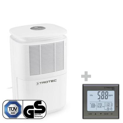 Deshumidificador TTK 30 E + Termohigrómetro (CO2) BZ25