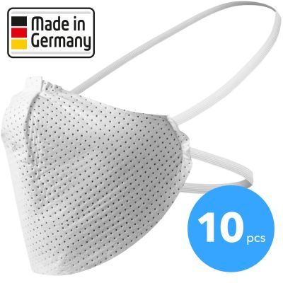 Mascarilla boca-nariz  Made in Germany 10 unidades