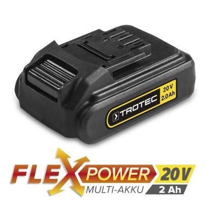 Batería adicional Flexpower 20V 2.0 Ah para PSCS 10-20V, PHDS 10-20V, PJSS 10-20V