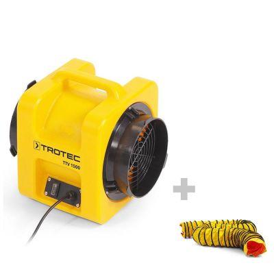 Ventilador TTV 1500 + 1x Manguera SP-T 203 mm