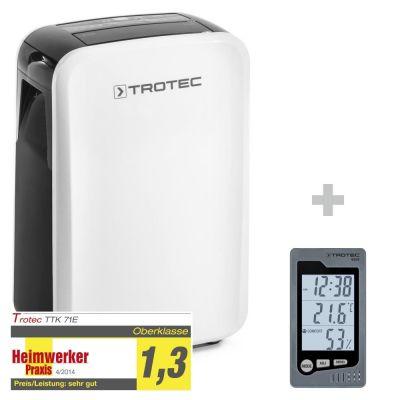 Deshumidificador TTK 71 E + Termohigrómetro para interiores BZ05