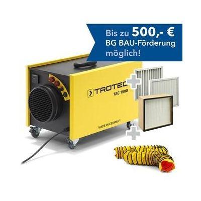 Paquete de purificador de aire  TAC 1500 transportable