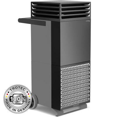 Purificador de aire de la habitación TAC V+ en gris basalto/negro