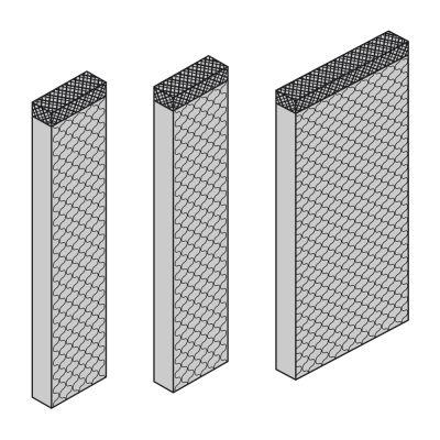 Filtro de evaporación PAE 45 (3 piezas)