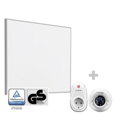 Panel calefactor infrarrojo TIH 300 S + Cronotermostato inalámbrico BN35