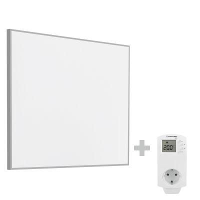 Panel calefactor infrarrojo TIH 400 S + Enchufe-Termostato BN30