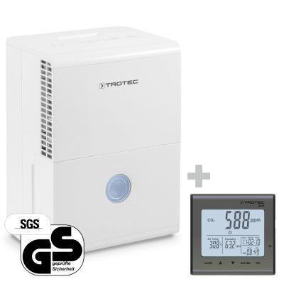 Deshumidificador TTK 28 E + Termohigrómetro (CO2) BZ25