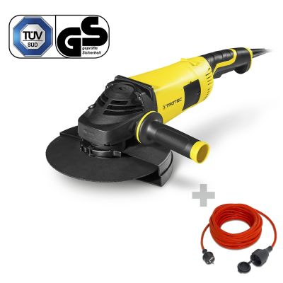 Amoladora angular PAGS 10-230 + Cable alargado de calidad 15 m / 230 V / 1,5 mm