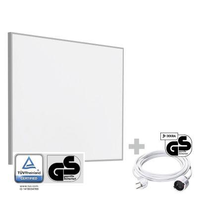 Panel calefactor infrarrojo TIH 300 S + Cable alargador de PVC 5 m / 230 V / 1,5 mm²