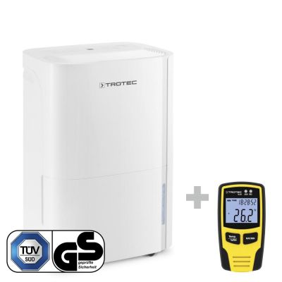Deshumidificador TTK 54 E + Datalogger BL30  para el control  climático