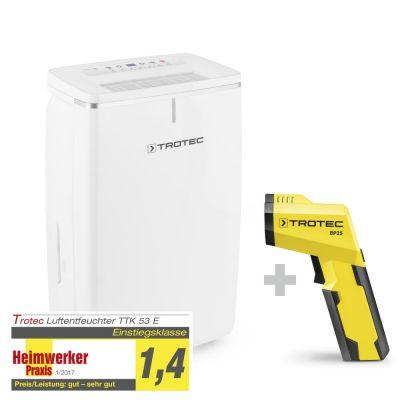 Deshumidificador TTK 53 E + Escáner del punto de condensación BP25