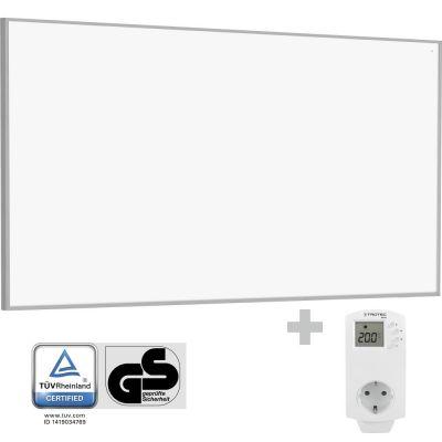 Panel calefactor infrarrojo TIH 700 S + Enchufe-Termostato BN30