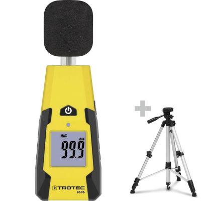 Medidor de nivel de sonido BS06 + Trípode Universal