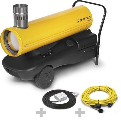 Calefactor de gasoil IDS 20 + Cable de extensión profesional + termostato