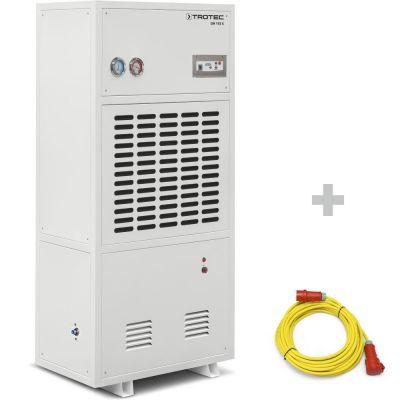 Deshumidificador industrial DH 115 S + cable alargador profesional de 20 m / 400 V / 2,5 mm²
