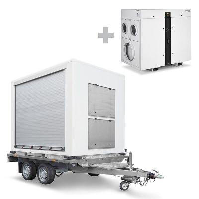Remolque de carga para TTR incl. Deshumidificador por adsorción TTR 6600