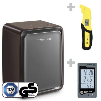 Deshumidificador TTK 24 E BS + Termohigrómetro BZ05 + Medidor de presión de neumáticos BY10
