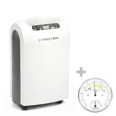 Deshumidificador Confort  TTK 100 E  + Termohigrómetro para interiores BZ15M