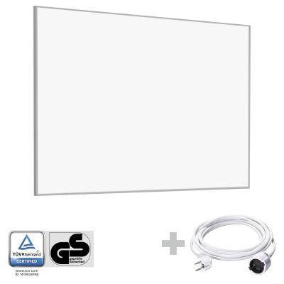 Panel calefactor infrarrojo TIH 1100 S + Cable alargador de PVC 5 m / 230 V / 1,5 mm²