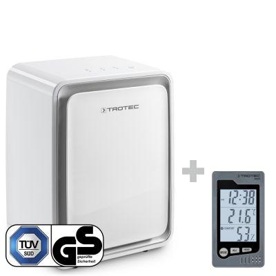 Deshumidificador TTK 24 E + Termohigrómetro para interiores BZ05