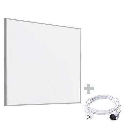 Panel calefactor infrarrojo TIH 400 S + Cable alargador de PVC 5 m / 230 V / 1,5 mm²