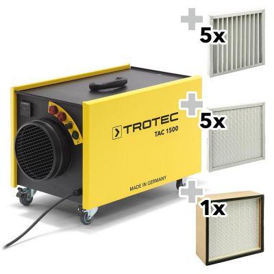 Purificador de aire  TAC 1500 + Conjunto de protección contra el polvo