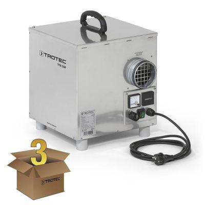 Deshumidificador de adsorción TTR 250 en juego de 3