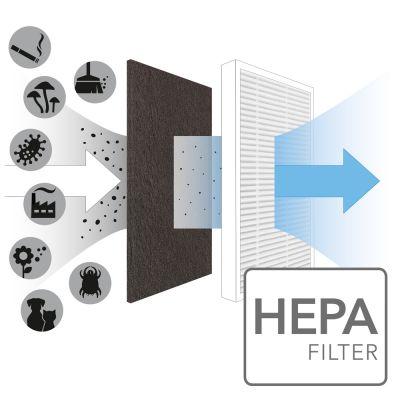 Filtro True HEPA para AirgoClean 10 E