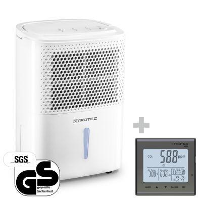 Deshumidificador  TTK 26 E + Detector de calidad del aire (CO2) BZ25