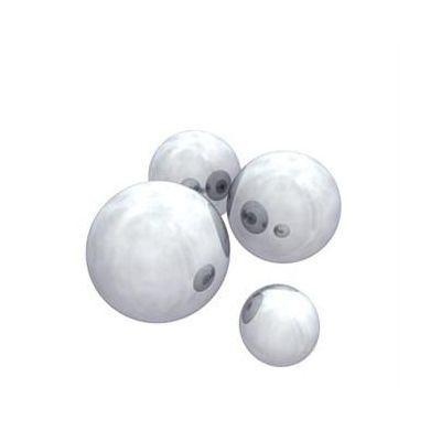 CM Bolas de acero inoxidable (4 unidades)