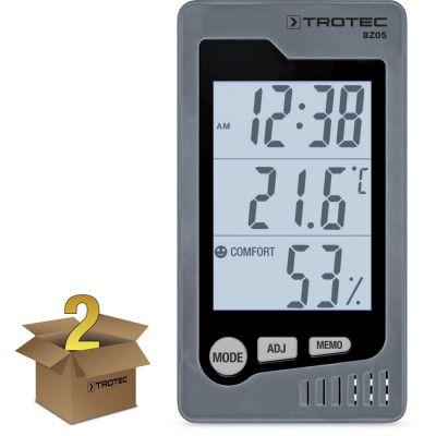 Termohigrómetro para interiores BZ05 (2 unidades)