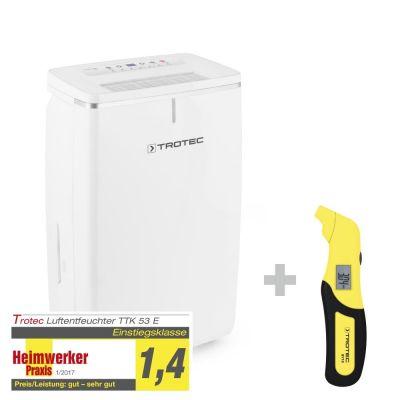Deshumidificador TTK 53 E + Medidor de presión de neumáticos BY10