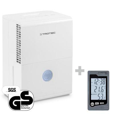 Deshumidificador TTK 28 E + Termohigrómetro para interiores BZ05
