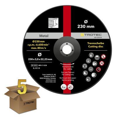Juego de disco de corte para metal AD 230 M (5 piezas)