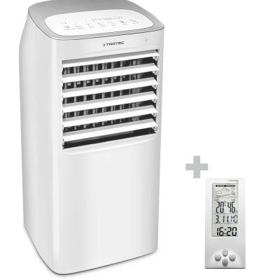 Enfriador de aire, humidificador de aire PAE 40 + Termohigrómetro Estación Meteorológica BZ06